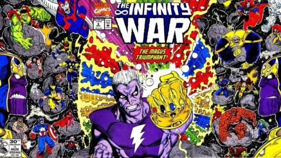 Revisiting for the First Time:  I finally read 'Infinity War'