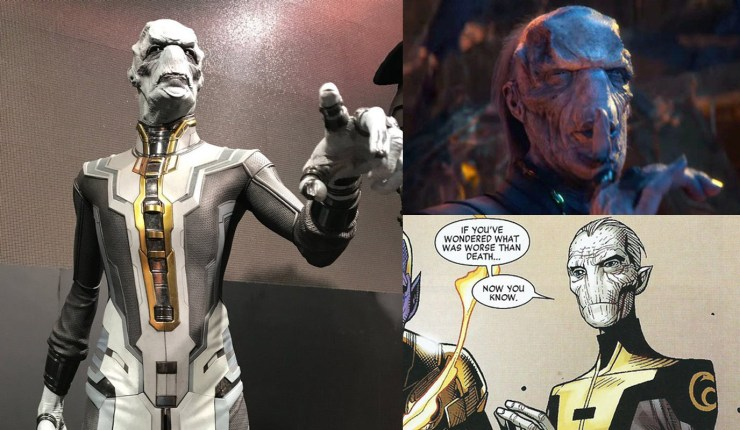How the 'Avengers: Infinity War' Black Order villains match up with the Avengers