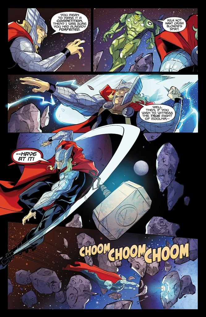 Thor vs Hulk: Champions of the Universe review: Thor and Hulk doing Thor and Hulk things