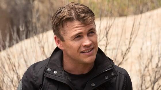 Luke Hemsworth talks season two of 'Westworld'.
