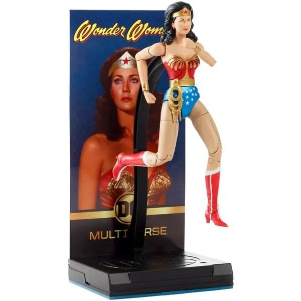 DC Comics Multiverse Signature Lynda Carter Wonder Woman Figure Images
