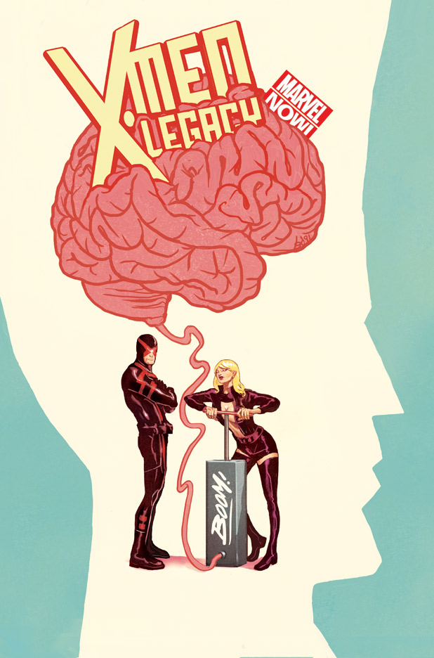'Legion: Son of X Vol. 3: Revenants' review: Legion and Cyclops, the sons of Xavier, face off!