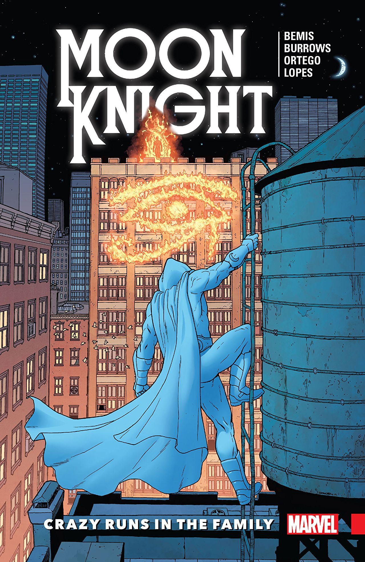 'Moon Knight: Legacy Vol. 1: Crazy Runs In The Family' review: A thought-provoking page turner
