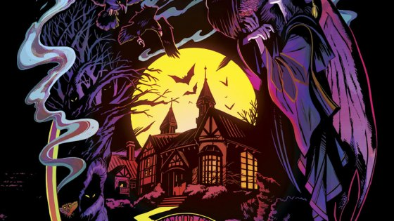 Making stuff up is magic: Evan Dorkin and Veronica Fish talk 'Blackwood', horror, and the art of standing out