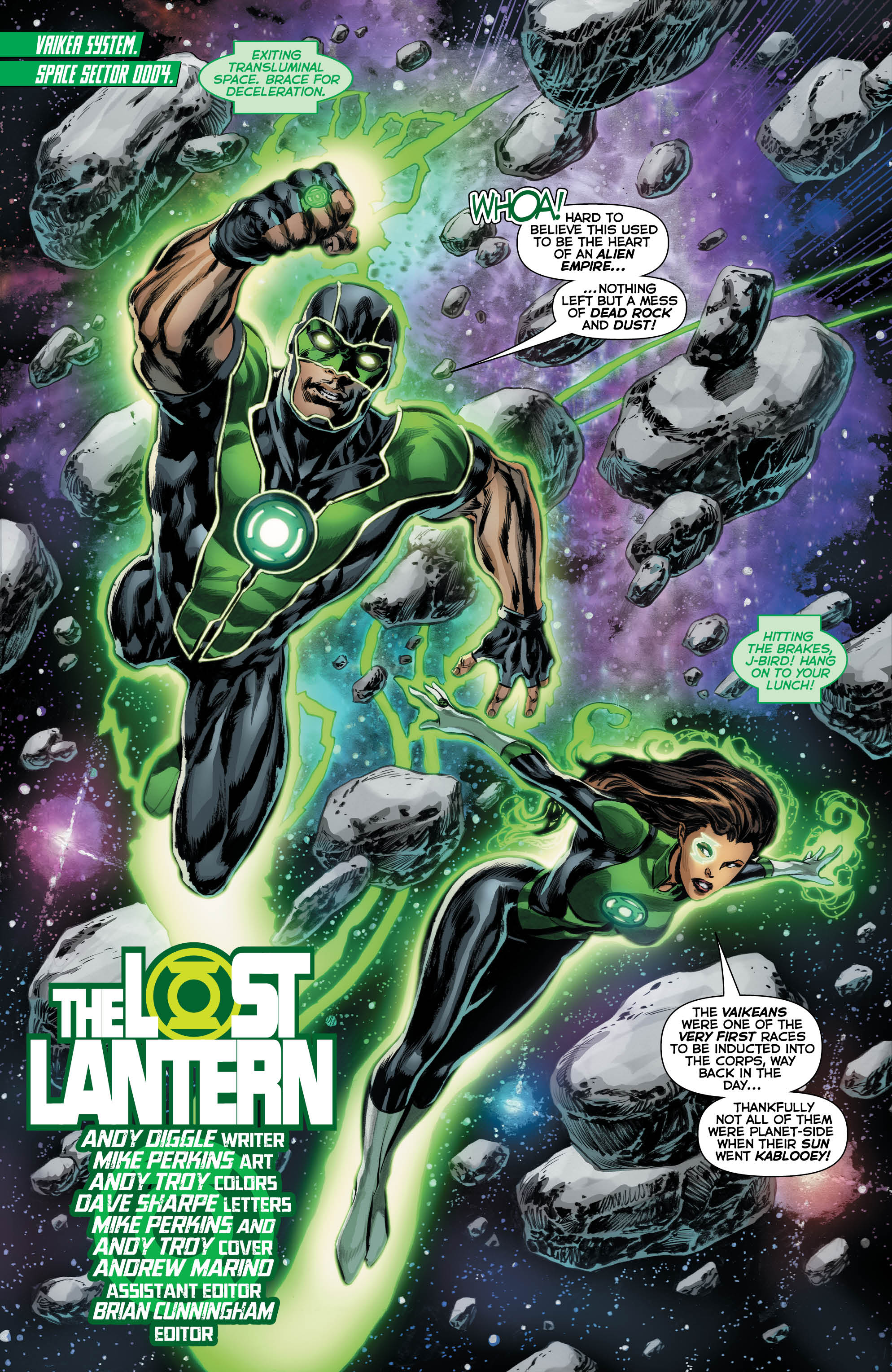Green Lanterns Annual #1 review: An entertaining but flawed one-shot