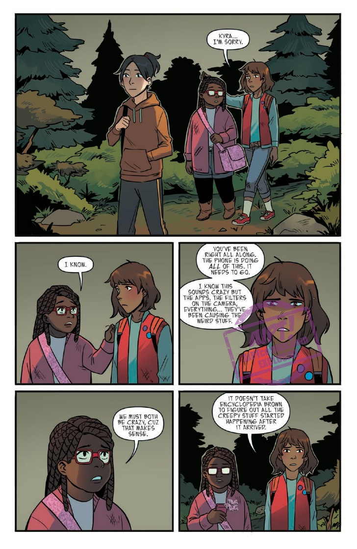 [EXCLUSIVE] IDW Preview: Goosebumps: Download and Die! #3