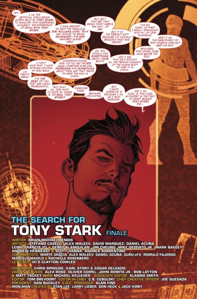 Marvel Preview: Invincible Iron Man #600