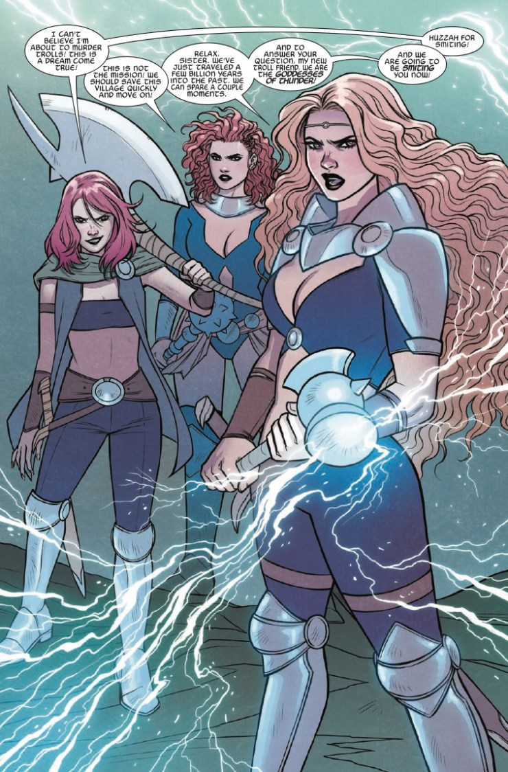 The Mighty Thor: At the Gates of Valhalla #1 review: A vision of the future?