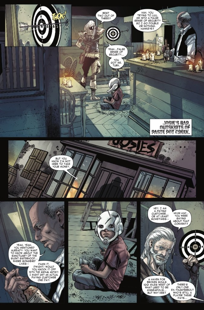 Marvel Preview: Old Man Hawkeye #5
