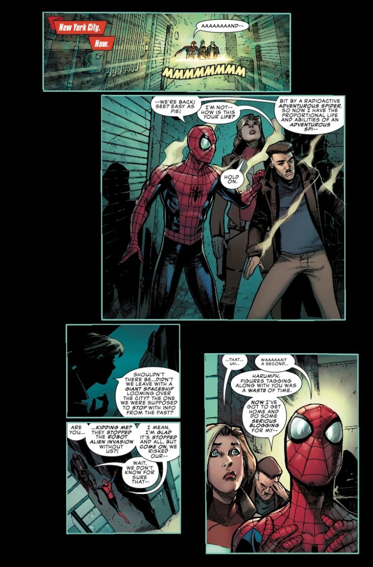 Peter Parker: The Spectacular Spider-Man #304 Review