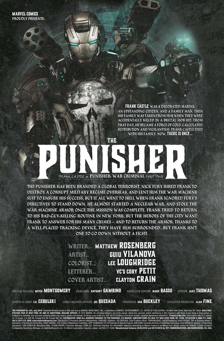 The Punisher #225 review: Becoming the villain of his own story