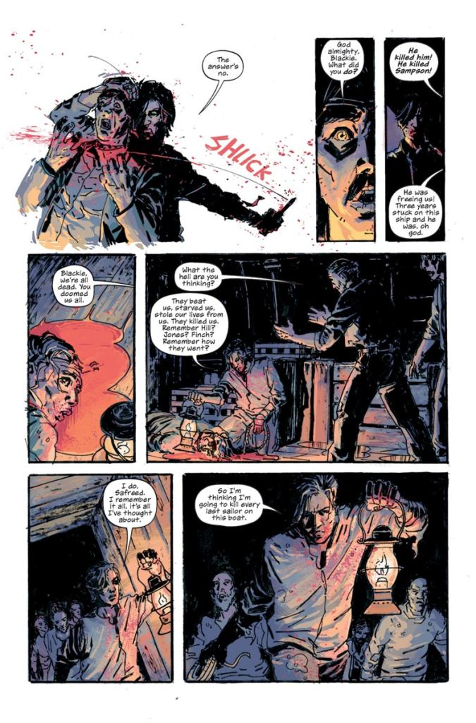 Shanghai Red #1 review: An emotional and violent revenge story