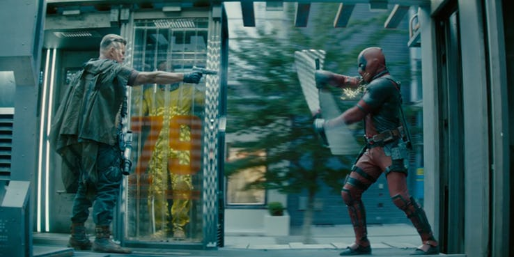 'Deadpool 2' saves the world from the non-threat of gluten