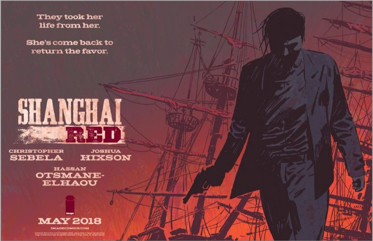 Vengeance in Portland: Christopher Sebela and Joshua Hixson talk 'Shanghai Red', dealing with negativity, and mutual trust falls
