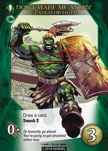 First official preview of Marvel Legendary: World War Hulk -- more questions than answers