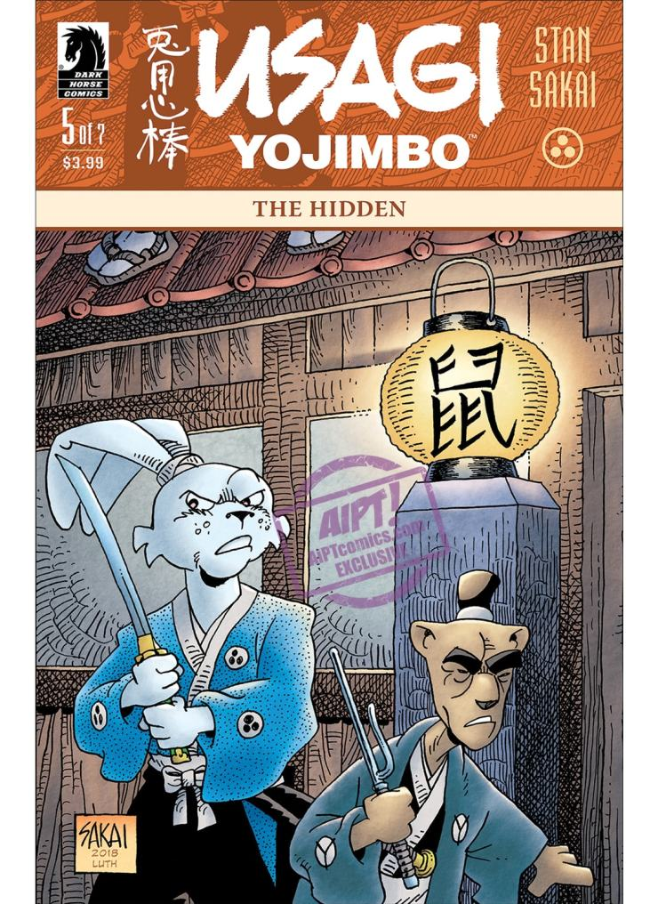 Get a first look at a new 'Terminator' comic series and the next chapter in Usagi Yojimbo.