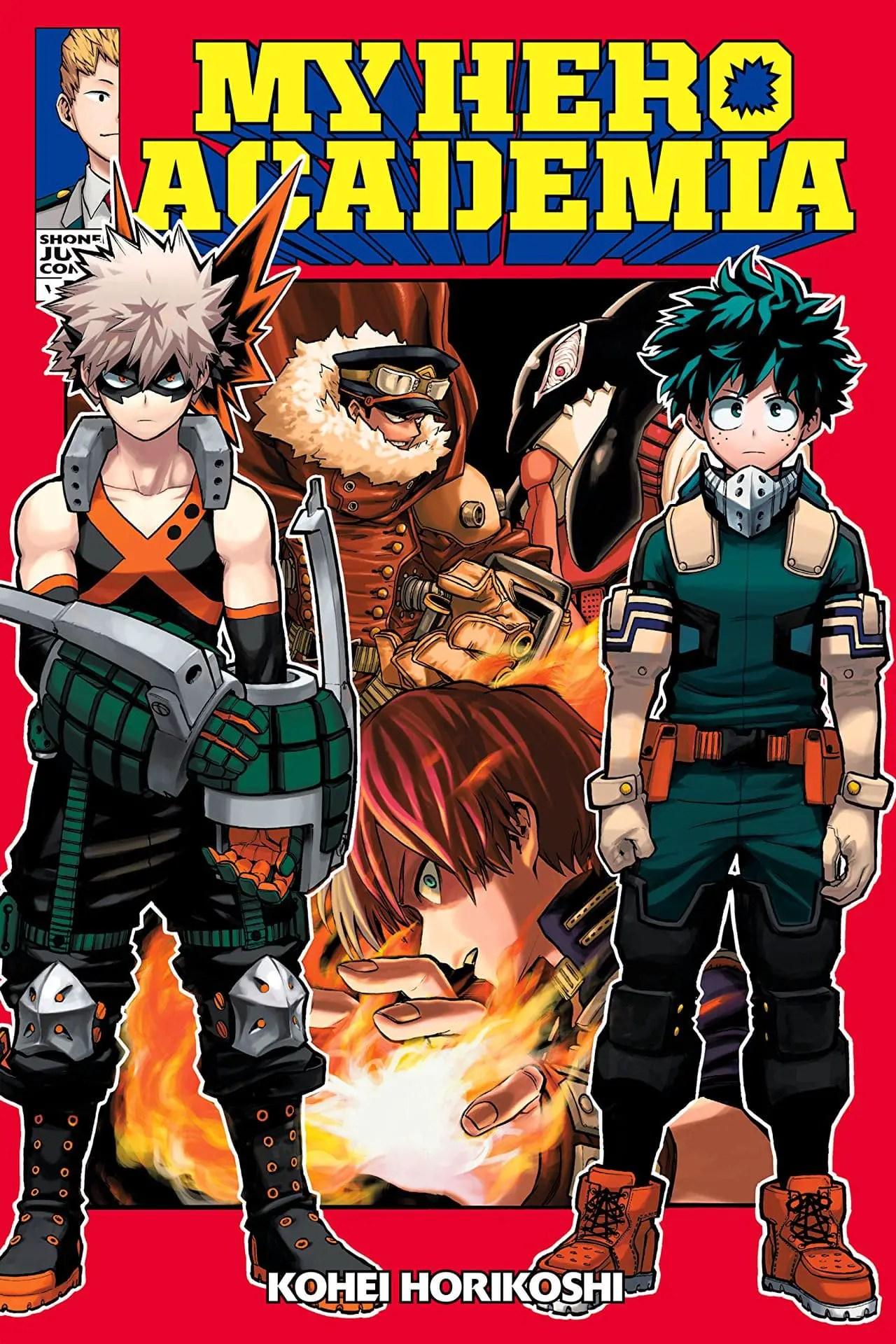 My Hero Academia Vol. 13 Review