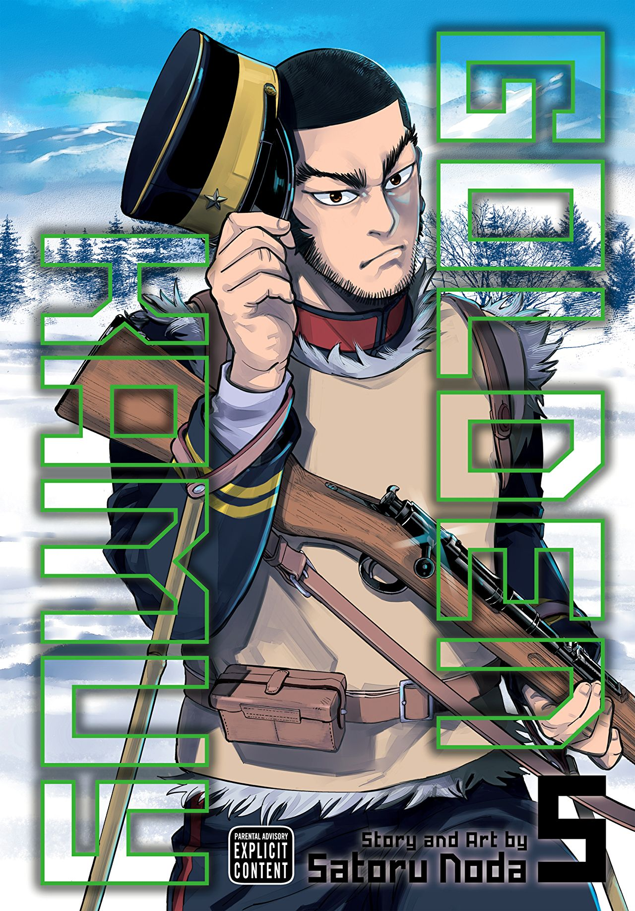 Golden Kamuy Vol. 5 Review