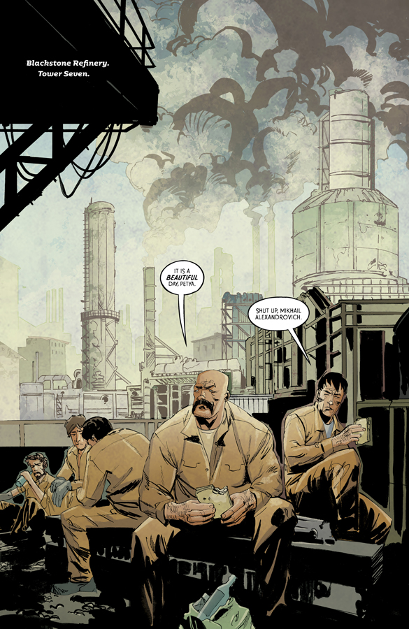 CRUDE #3 review: A near perfect release for one of Image Comics' best new series