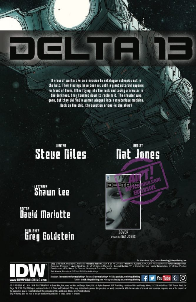 [EXCLUSIVE] IDW Preview: Delta 13 #3