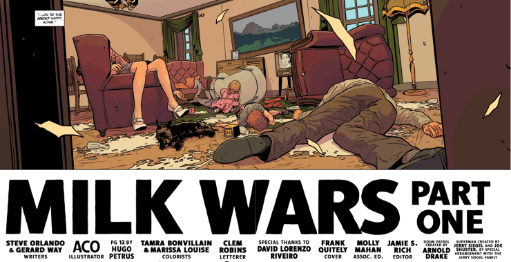 DC/Young Animal: Milk Wars TPB review