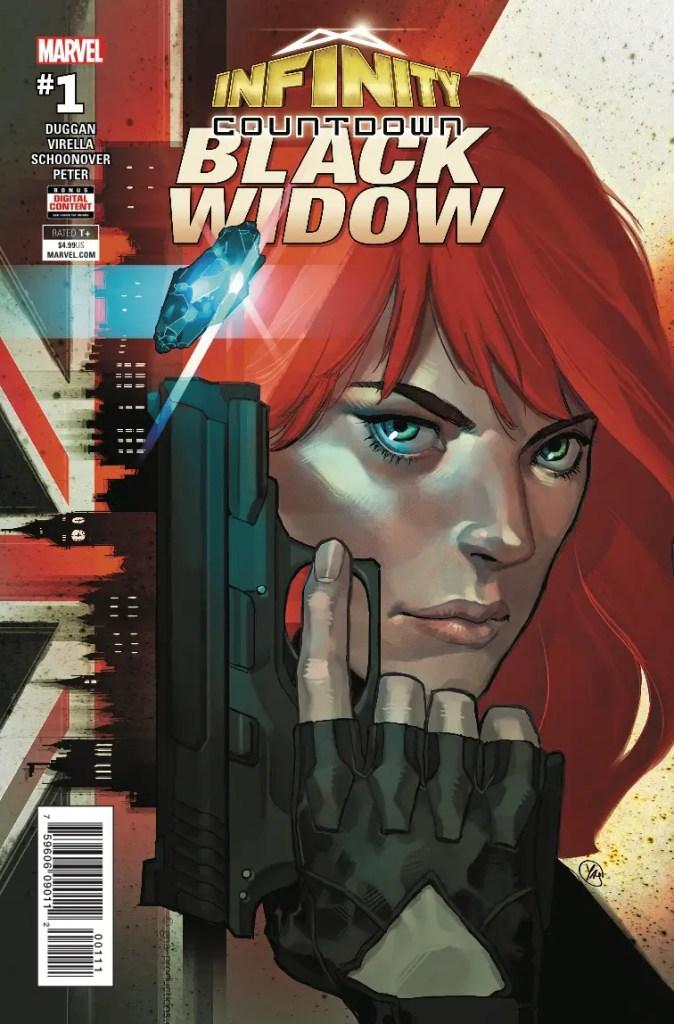 Marvel Preview: Infinity Countdown: Black Widow #1