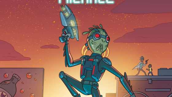 The Rick and Morty presents series is a welcome one because it devotes entire issues to fleshing out the colorful supporting characters we know and love. Some are obscure, others are huge fan favorites that garner swag and paraphernalia. Case in point, Krombopulos Michael.