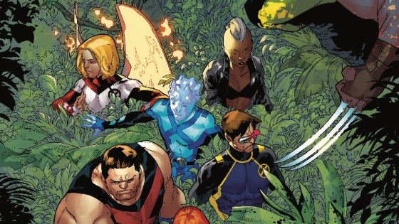 The original X-Men are back and--oh no--is that a Poison?
