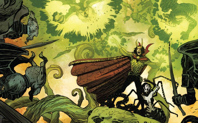 "Dr. Strange: God of Magic Vol. 1 review: ""The God of Mischief just became the Sorcerer Supreme"""