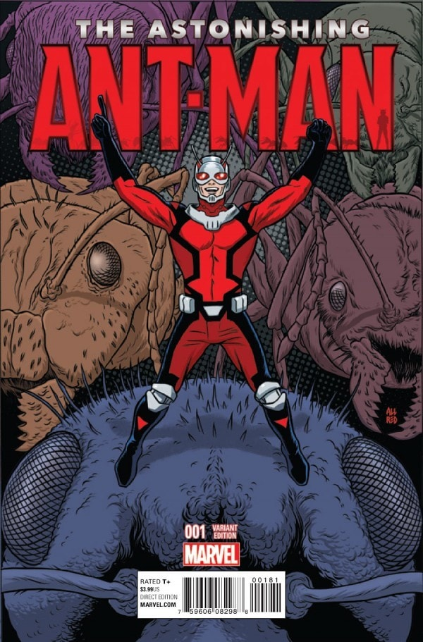 Judging by the Cover - Our favorite Ant-Man and the Wasp covers of all time