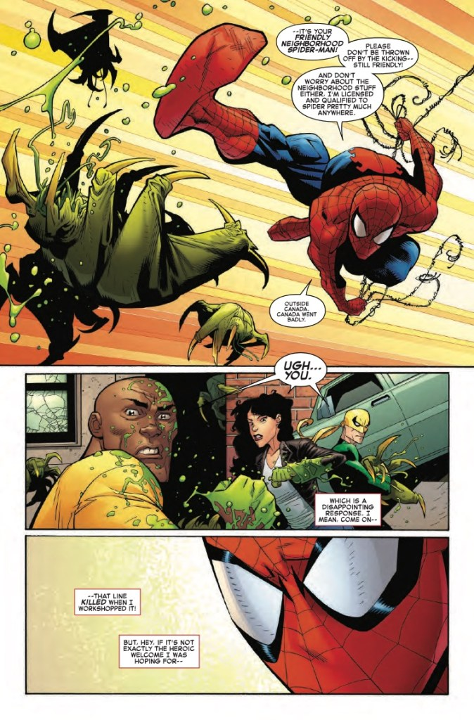 Amazing Spider-Man #1 Review: It has all the Parker luck