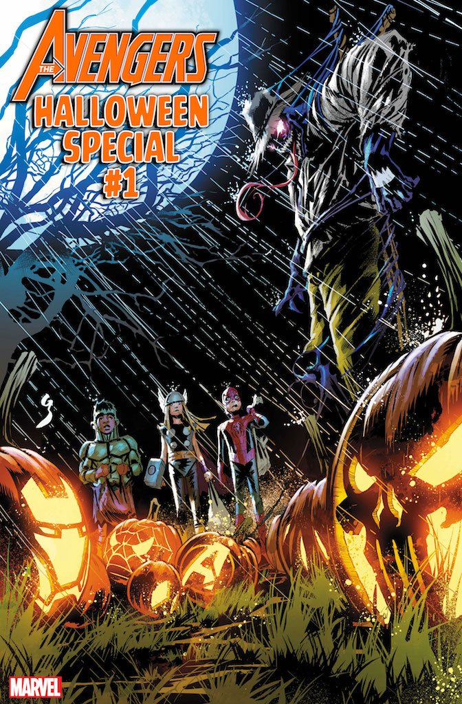 First Look: Avengers Halloween Special #1