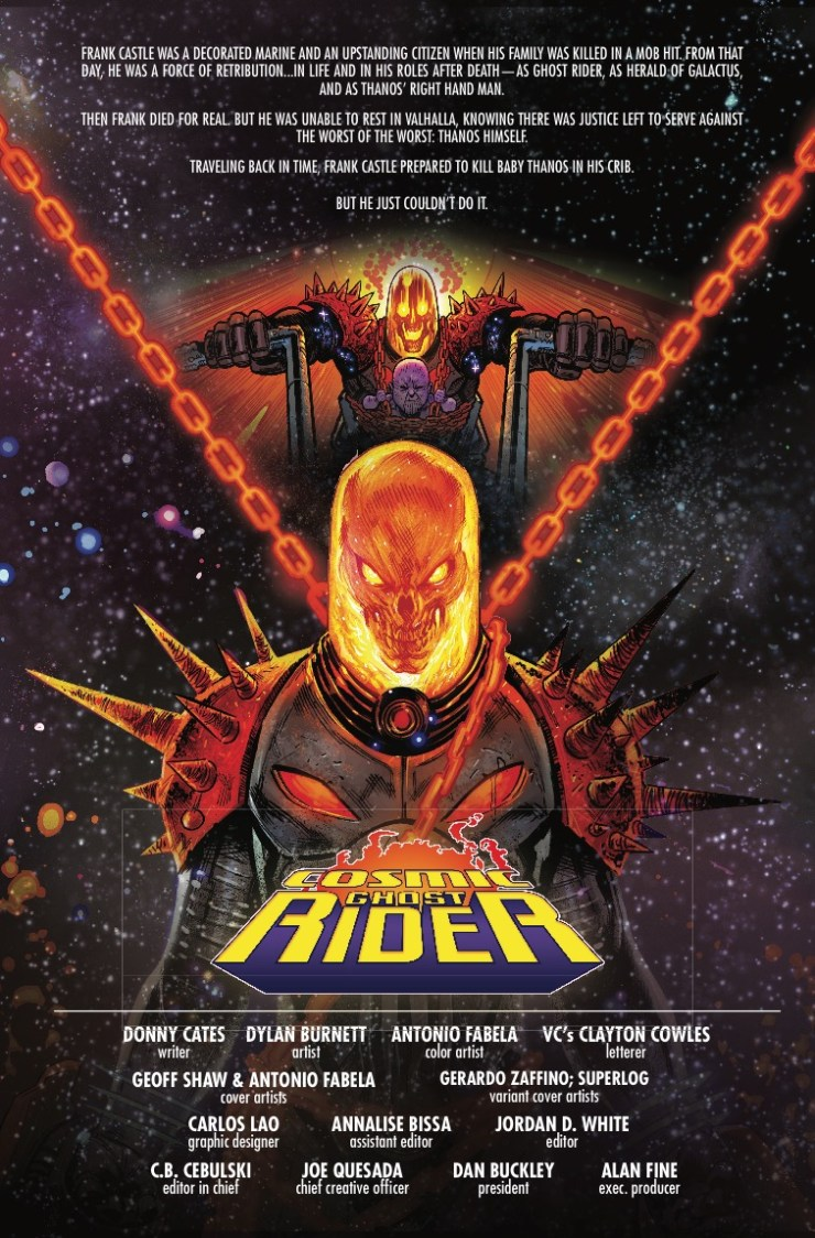 Marvel Preview: Cosmic Ghost Rider #2
