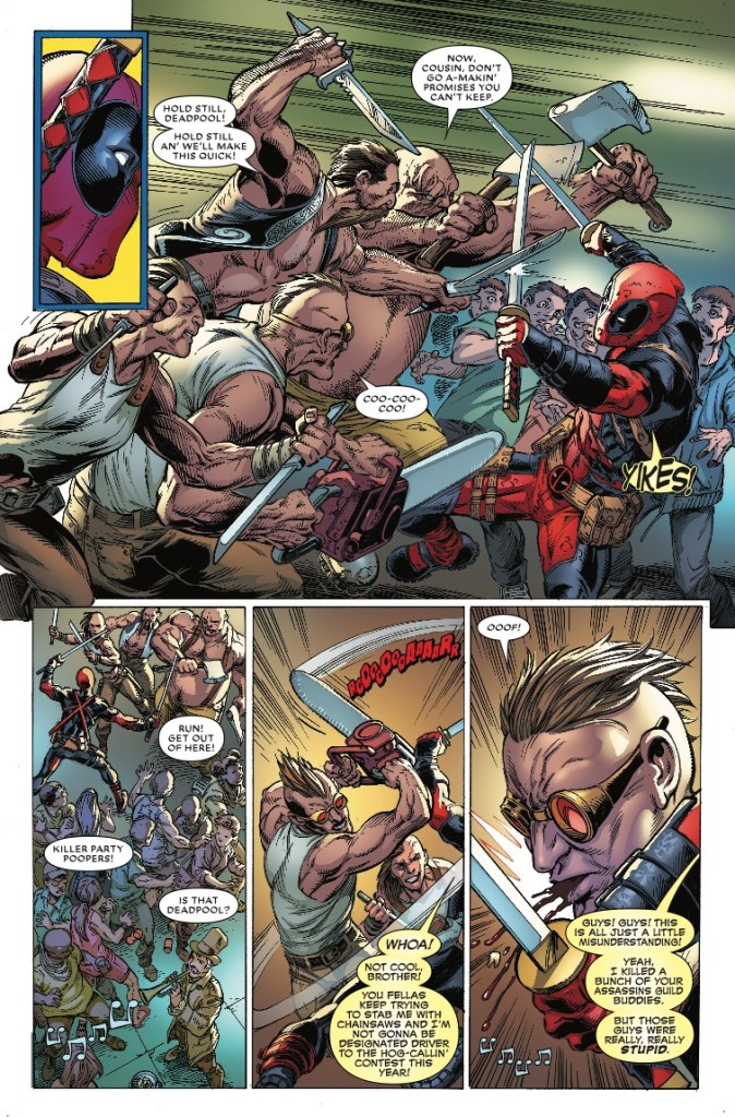 Deadpool: Assassin #3 review: Not the strongest issue in the series, but still a fun read