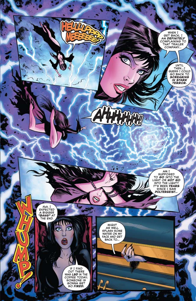 Elvira, Mistress of the Dark #1 review