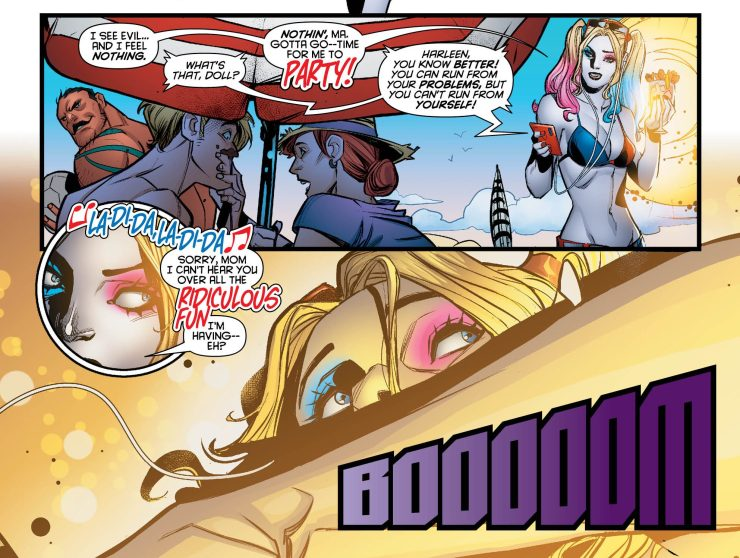 Harley Quinn #45 Review: Welcome to Apokolips