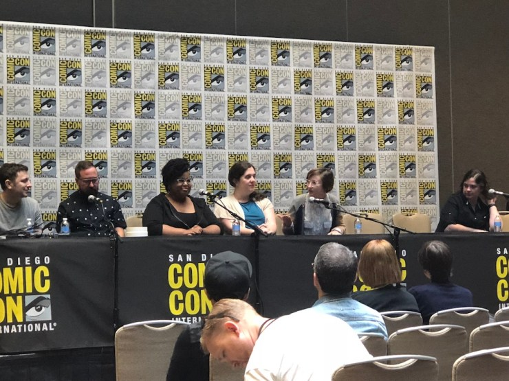 SDCC 2018: comiXology Originals reveal - Monsters will rise, and stone kings emerge