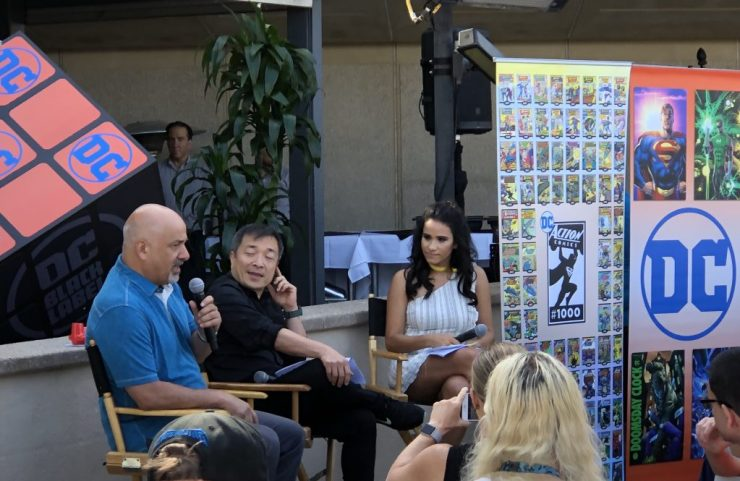 Notes from Dan DiDio and Jim Lee publisher breakfast: Future stories from Scott Snyder, Alex Sanchez, and Steve Orlando