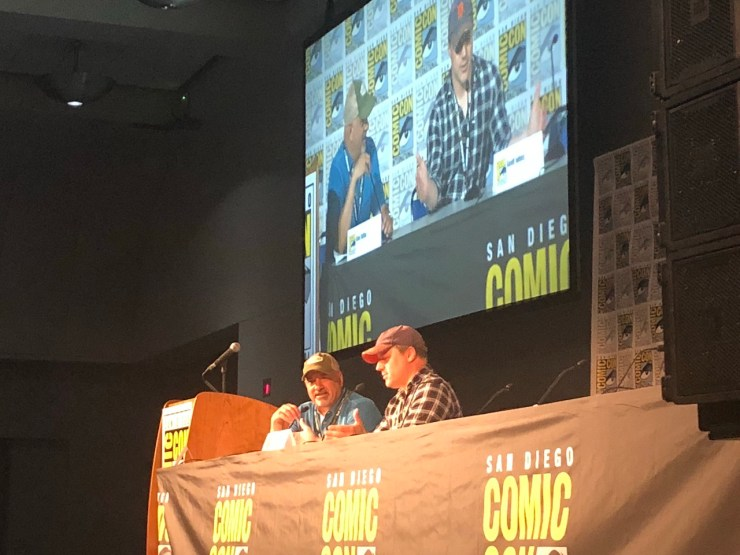 Geoff Johns delves deep into new DC Universe show 'Titans' at SDCC