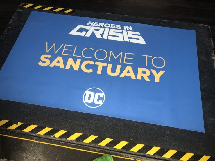 Tom King takes us to Sanctuary: A passionate plea for a story we need now more than ever