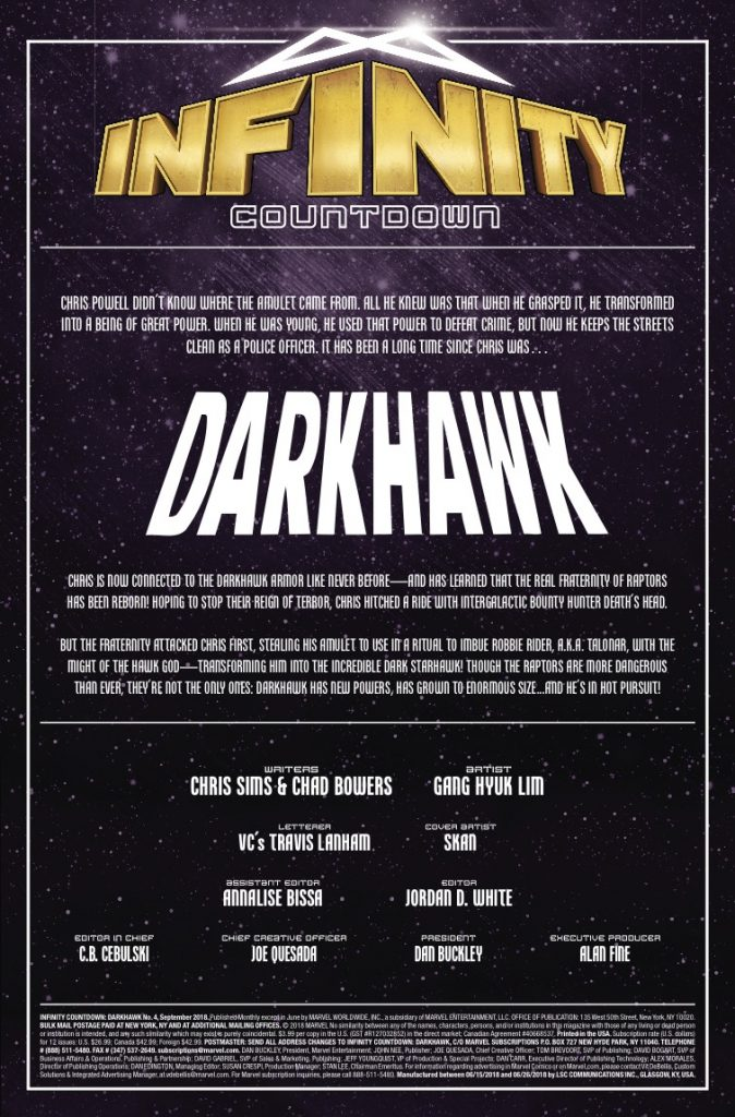 THE FINAL CHAPTER OF DARKHAWK... FOR NOW!