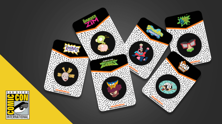 Get a first look at what Nickelodeon will be selling exclusively at SDCC 2018.