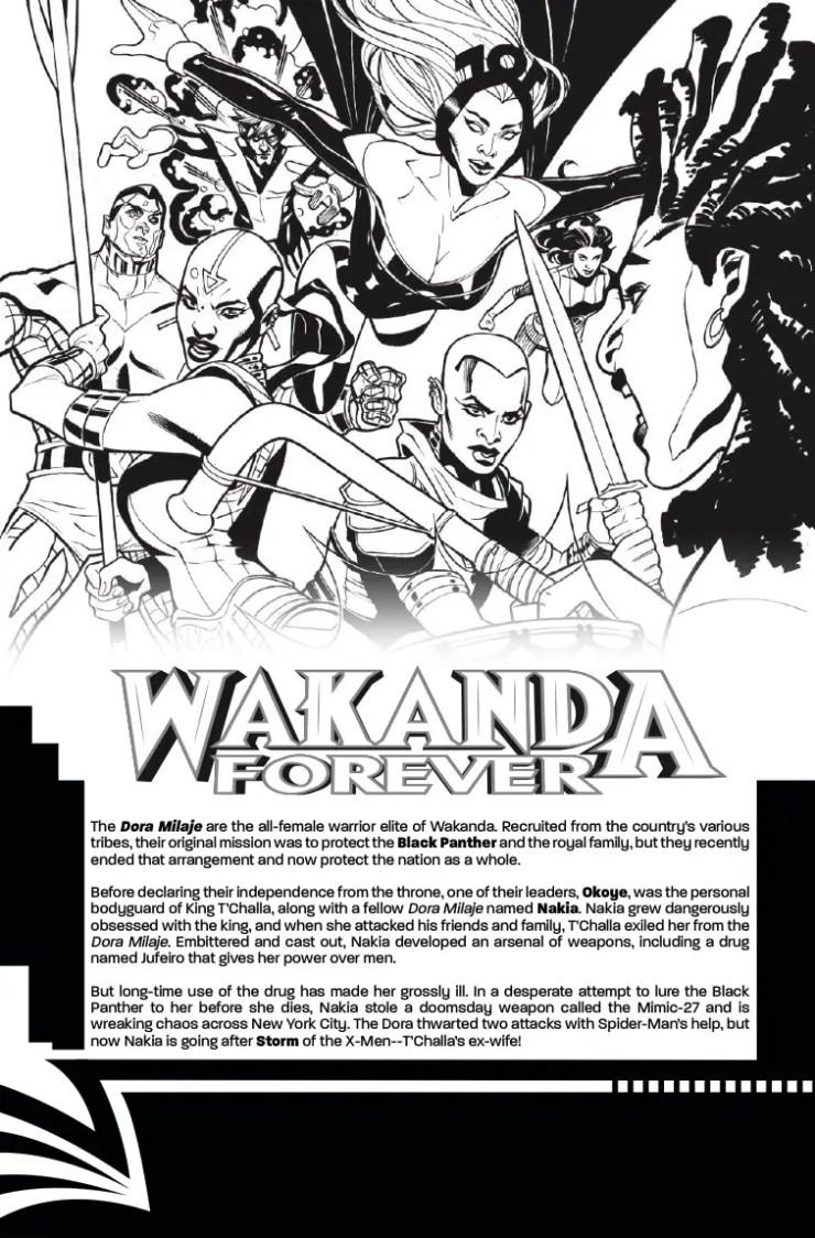 Marvel Preview: X-Men: Wakanda Forever #1