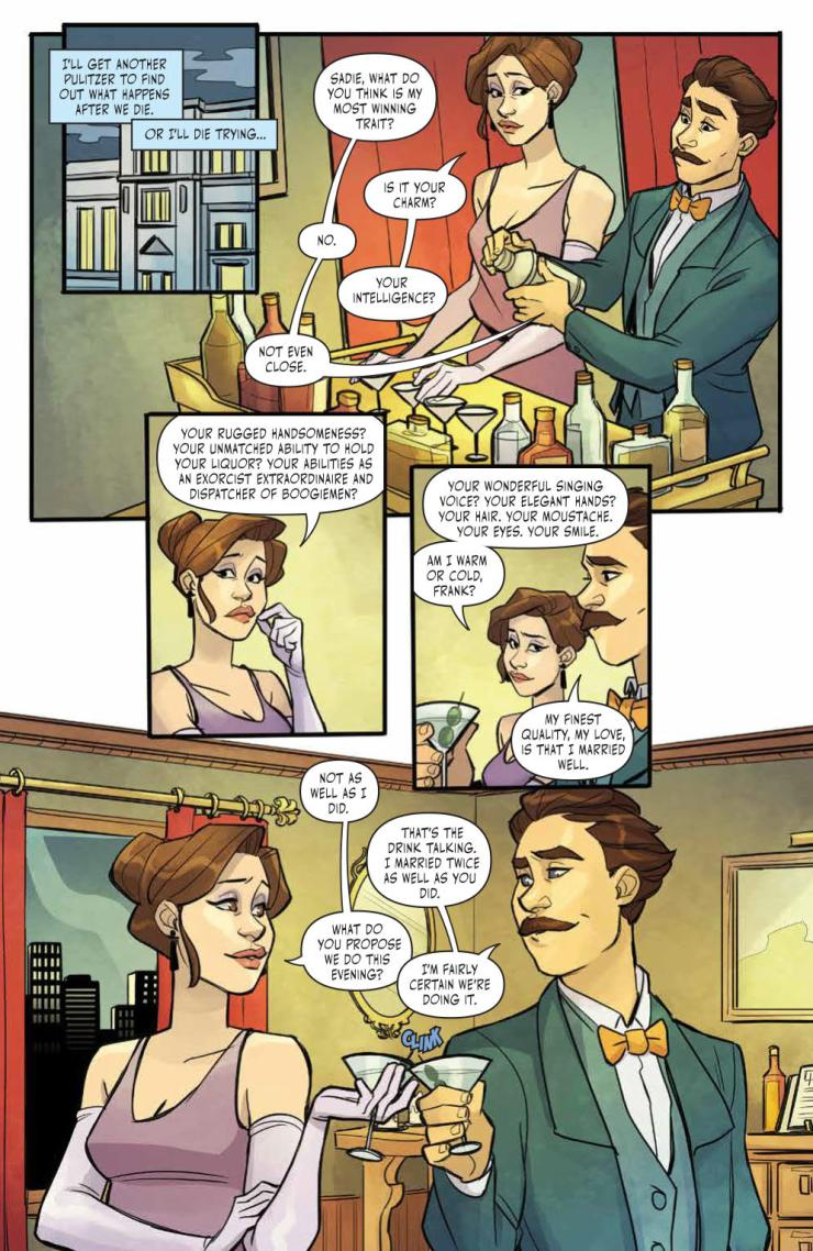Thrilling Adventure Hour #1 review: Introduces those married mediums to a new audience