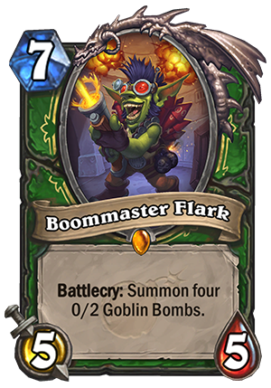 Hearthstone: The Boomsday Project: New Hunter Legendary, Boommaster Flark
