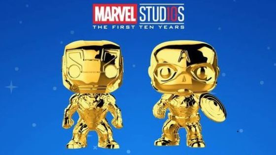 Funko reveals Marvel Studios' 10th anniversary chrome Pop! series to commemorate the first ten years of the Marvel cinematic universe.