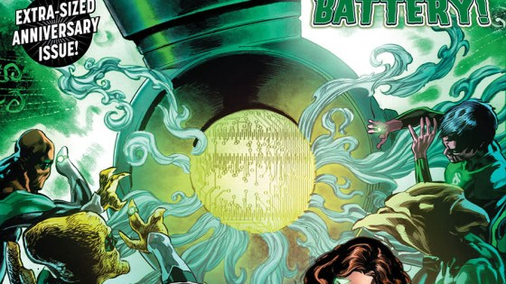 Green Lanterns #50 review: The gang's all here for an exciting, mysterious, and spectacular new story