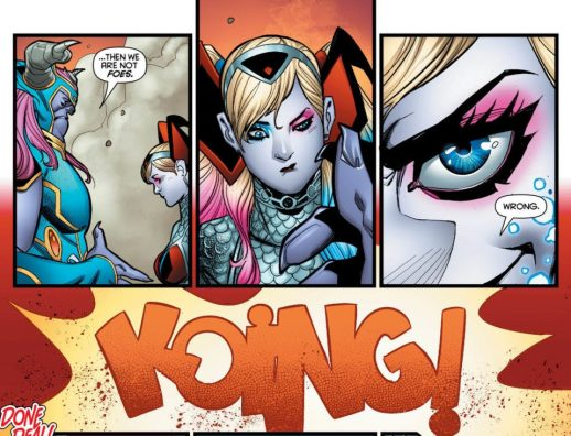 It's Fury vs. Fury in a furious showdown! Harley's tasked with bringing in Petite Tina—except, turns out, shes not quite so petite!