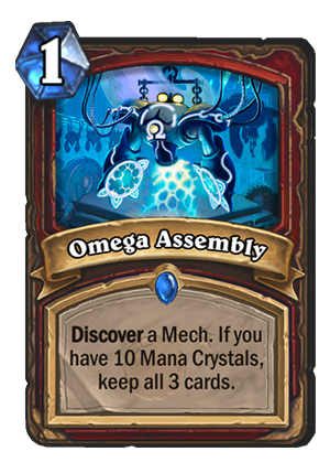Hearthstone: The Boomsday Project: New Warrior spell revealed, Omega Assembly