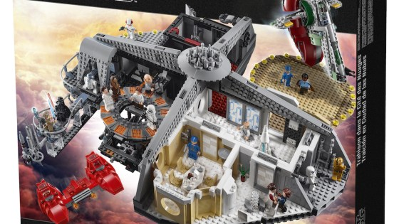 Feast your eyes on this impressive Star Wars Cloud City LEGO set.